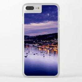 Cote Dazur France Clear iPhone Case