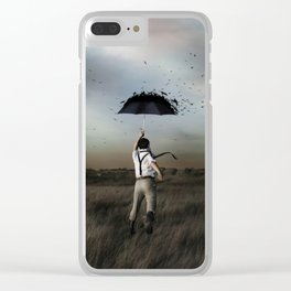 Somewhere That Matters Clear iPhone Case