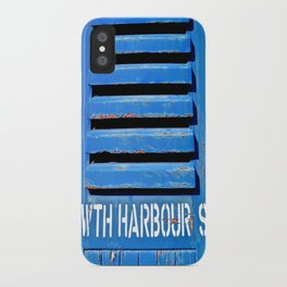 Howth Harbour Shutter iPhone Case