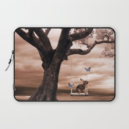 Woodland swing Laptop Sleeve