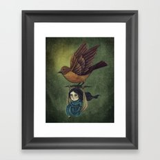 Midnight Travel Framed Art Print
