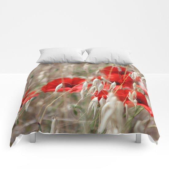 Poppies  - JUSTART © Comforters