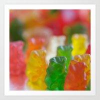 bears Art Prints featuring Bears by Kim Fearheiley Photography