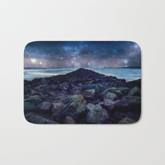 Rocky Road to Eternity Bath Mat