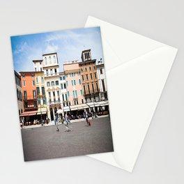 Bike Through Verona Stationery Cards