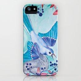BLUEBERRY BIRD iPhone Case
