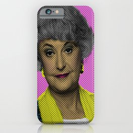 Bea Arthur: The Golden Girls iPhone Case
