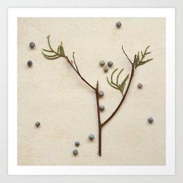 Natural Symbols - Small Tree Art Print