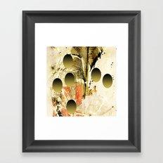 White dream Framed Art Print