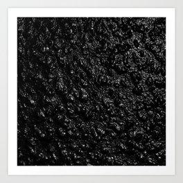 Liquid Dark Art Print