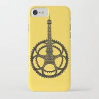 tour de france iPhone & iPod Cases featuring Le Tour de France by Foster Type