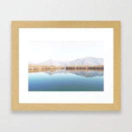 Lake Of Tranquility Framed Art Print