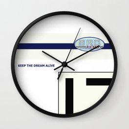 SRC Preparations 910 No.17 Facoory Wall Clock
