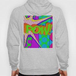 Pow Pop Art Explosion Hoody