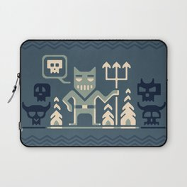 Skull collector Laptop Sleeve