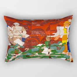 RED BOOT Rectangular Pillow