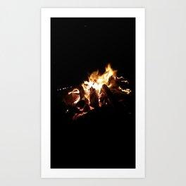 fire Art Print