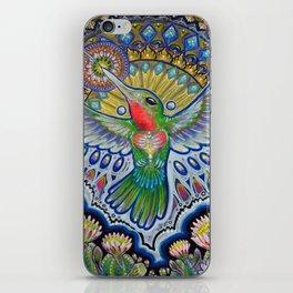 Hummingbird & Cactus - Beija Flor III iPhone Skin