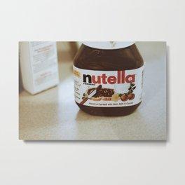 Nutella Metal Print