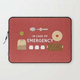 Emergency Tea Laptop Sleeve