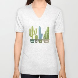 Don't Be A Prick Cactus Unisex V-Neck