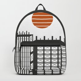 City in construction Backpack