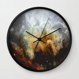 Mysteries of the Universe Wall Clock