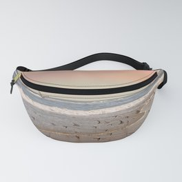 Pink Sandy Beaches Fanny Pack