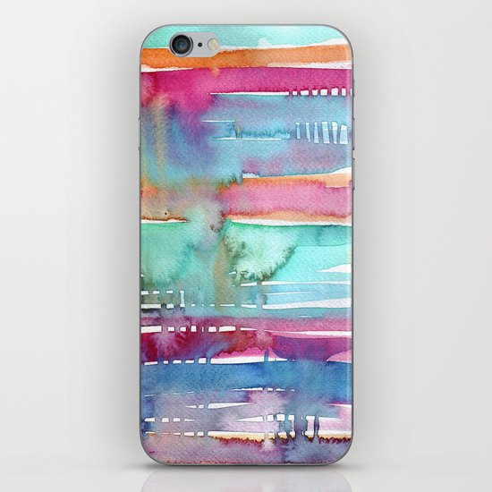 Water Stripes iPhone & iPod Skin