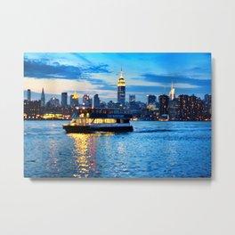 East River Empire Metal Print