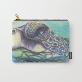 Sea Turtle Gaze Carry-All Pouch
