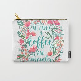 Coffee & Concealer – Juicy Palette Carry-All Pouch
