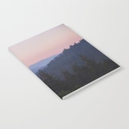 Sunset in the Santa Cruz Mountains Notebook