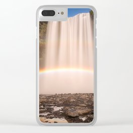 Skogarfoss, Iceland Clear iPhone Case