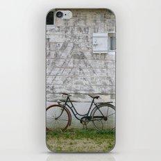 Bicyclette Normandie iPhone & iPod Skin