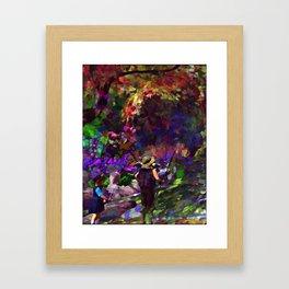 """""""July"""" Framed Art Print"""