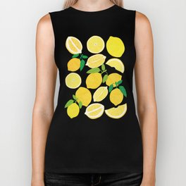 Lemon Harvest Biker Tank