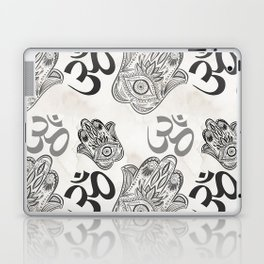 Hamsa Yoga Pattern Laptop & iPad Skin