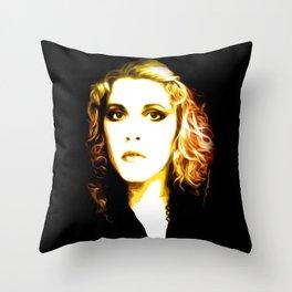 Stevie Nicks - Dreams - Pop Art Throw Pillow