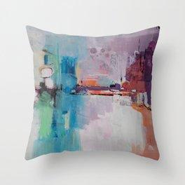 Metropolis Nine Throw Pillow