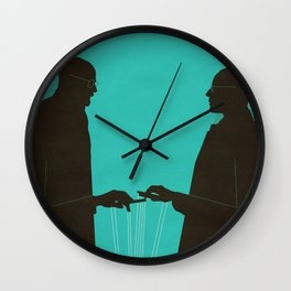 Face Off Wall Clock