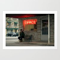 the office Art Prints featuring Office by Christopher Morley