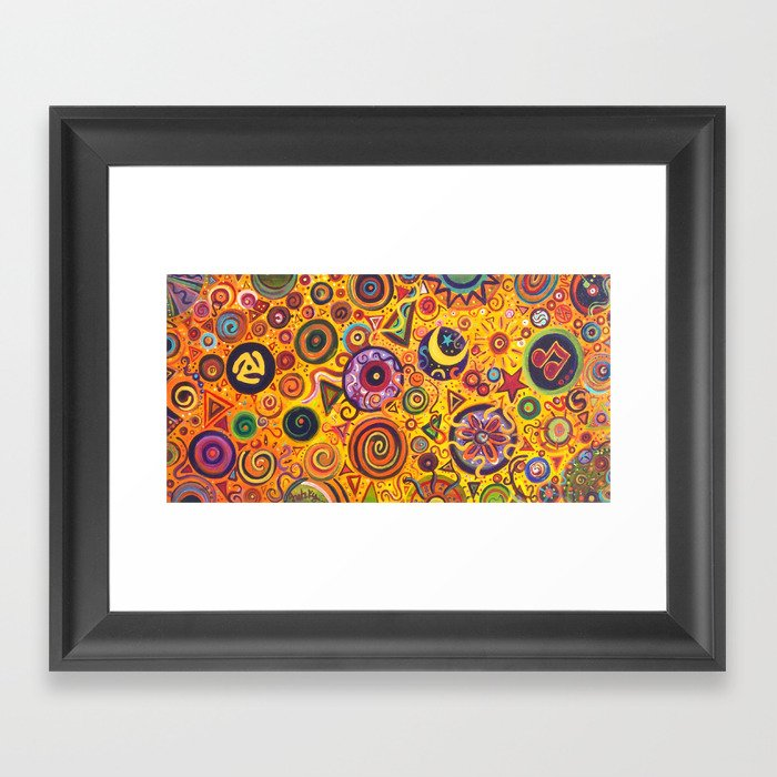 Fiesta Framed Art Print