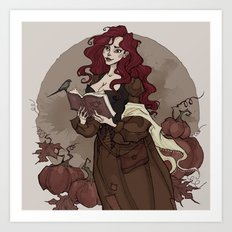 October Mood Art Print