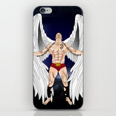 angel comics nude art vector iPhone Skin