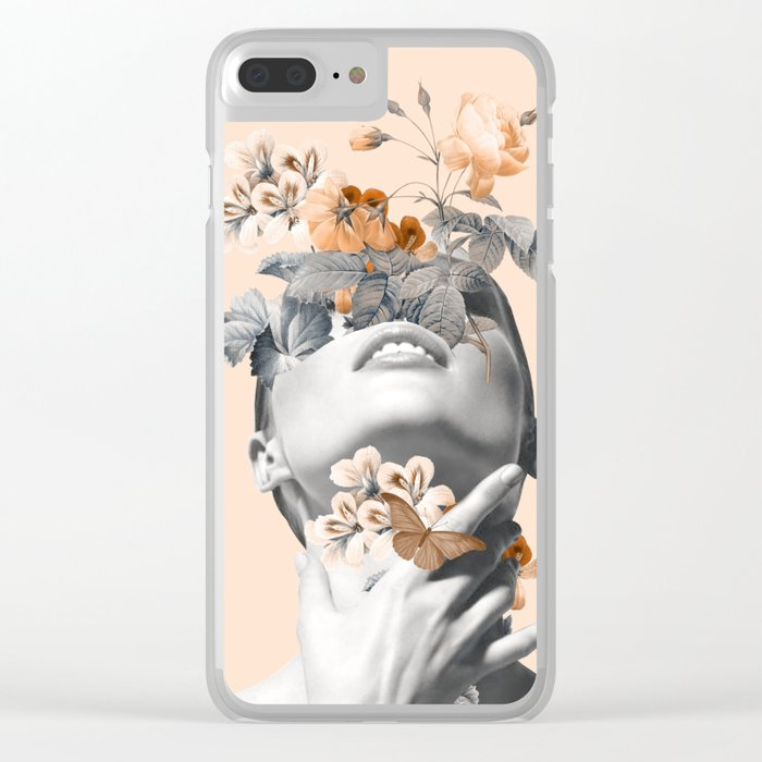 Inner beauty 4 Clear iPhone Case