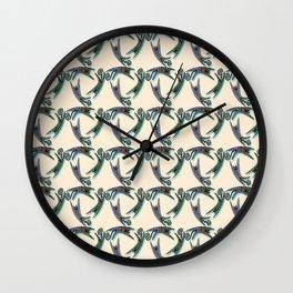 JUMPING CATS CIRCLE Wall Clock