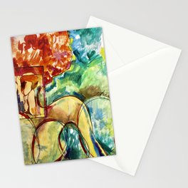 Red People Series 3 No 500 Stationery Cards