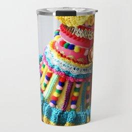 Watering Pompoms (2) Travel Mug