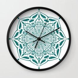 King's rest Mandala Wall Clock